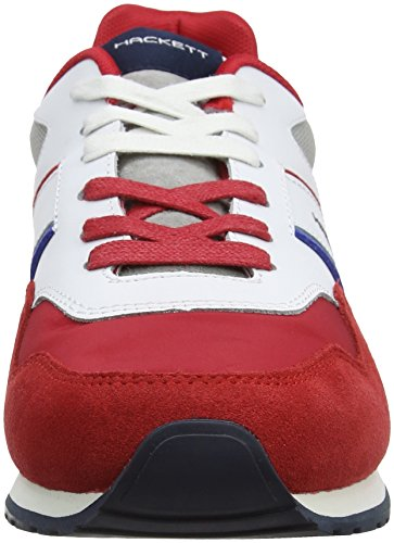 Sneaker Red Uomo Runner Team Hackett PRO London Rosso IvwqBx8af