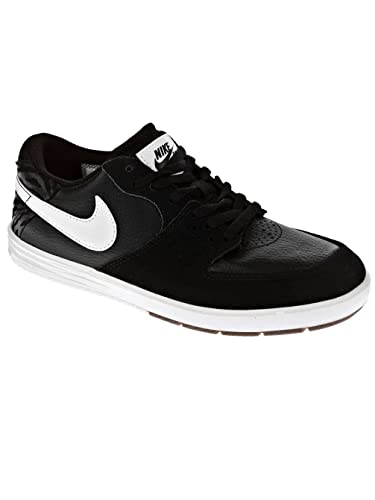 Nike Paul Rodriguez 7 Skate Shoe - Boys' Black/Black/White, ...