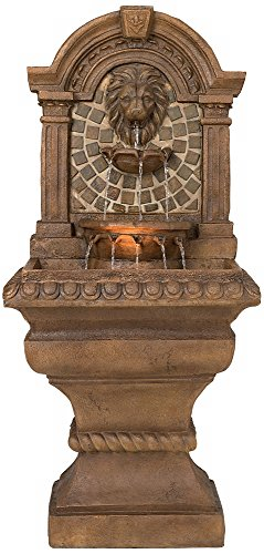 Solar Lighted Bird Bath Fountain in US - 3