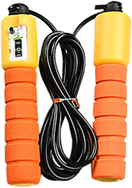 Details about  /Speed Jump Rope Counter Adjustable Bearing For Speed Skipping Fitness Crossfit