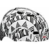 Black-White-Bell-Bike-Helmet-Maniac-Childs-Ages-8