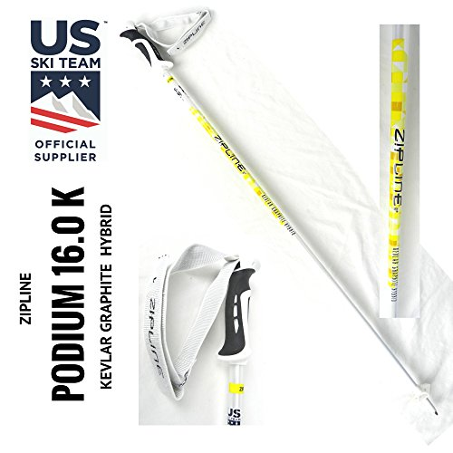 Us Olympic Ski Team (Ski Poles - Zipline Kevlar Graphite Hybrid Composite