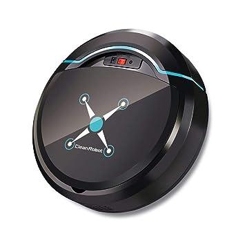 melysEU Robot Aspirador Automático Avanzado con Aspirador de Potencia Máxima para el Cabello de Mascotas, Alfombras, Bombas de Piso Duro (Negro): Amazon.es: ...