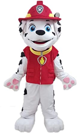 CHASE MARSHALL SKYE PAW PATROL MASCOT COSTUME PARTY FANCY DRESS ADULT SIZE