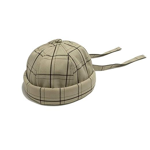 KFEK Versión Coreana de la Boina Simple Enrejado Sombrero de ...