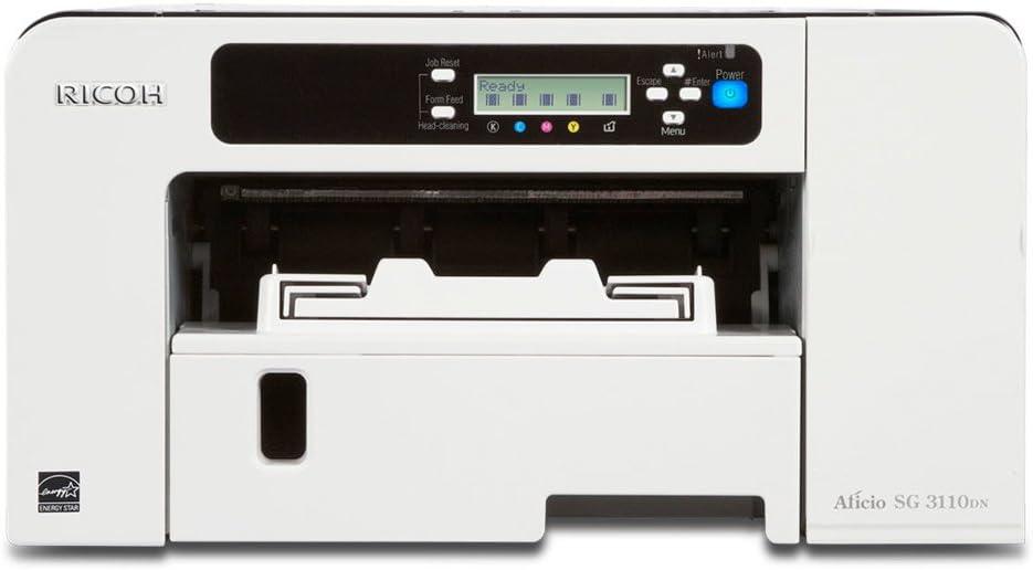 Ricoh Aficio SG 3110DN - Impresora de Tinta (10000 páginas por Mes ...