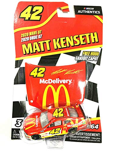 DieCast NASCAR Authentics 2020 Wave 07 Matt Kenseth #42 McDonald's