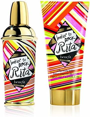 Benefit Lookin 'To Rock Rita 30ml EDT Spray / Silky Body Lotion 60ml
