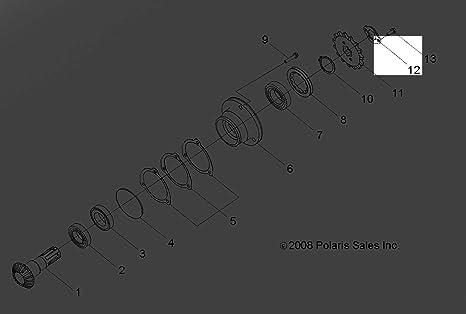Polaris 2009-2020 Rzr Brkt Sprocket 0454564 New Oem