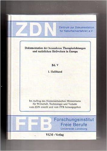 Dokumentation der besonderen Therapierichtungen und natürlichen ...