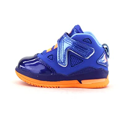 promo code 74227 8fbaa Nike Jordan Melo M9 Boys  Toddler 552663-409 Game Royal Brightman Citrus Sz  3C  Amazon.co.uk  Shoes   Bags