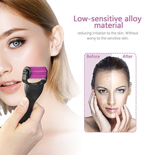 ... Rodillo Facial Micro Agujas, Dermaroller Facial, Dermaroller 0.5, Dermaroller 1mm, Dermaroller 1.5, por Ojos, Cara, Cuerpo: Amazon.es: Belleza