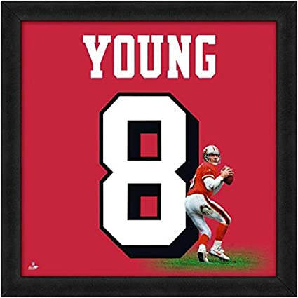 ee1489e4a Amazon.com  San Francisco 49ers Steve Young  8 Players Jersey ...