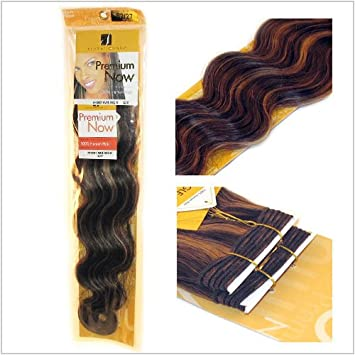 Amazon sensationnel premium now body wave weaving weft sensationnel premium now body wave weaving weft extension hair 18 inches pmusecretfo Image collections