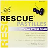 Nelson Bach - Rescue Pastilles Black Currant, 1.7 oz (Pack of 3)