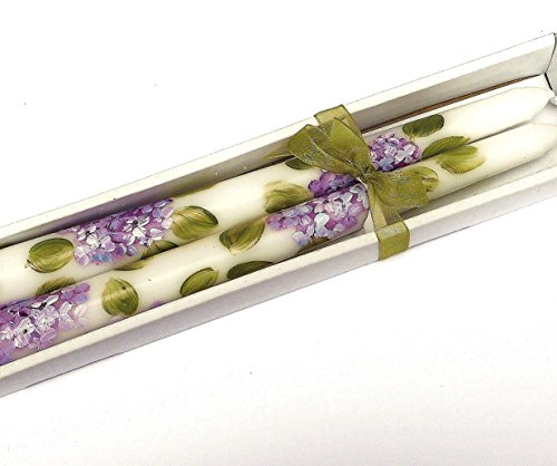 Decorative Hand Painted Purple Hydrangea Flower 10