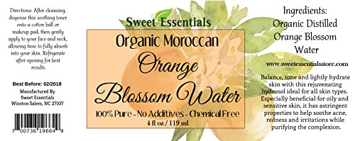 Premium-Organic-Moroccan-Orange-Blossom-Neroli-Water-4oz-Spray-Imported-From-Morocco-Food-Grade-Packed-With-Natural-Antioxidants-Perfect-for-Hydrating-Rejuvenating-Your-Face-Neck