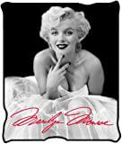 Silver Buffalo MR3627 Marilyn Monroe Ballerina Dress Plush Throw Blanket, 50 in. x 60 in.