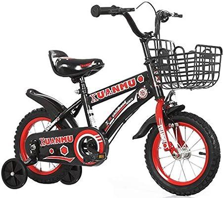 LLF Bicicleta Infantil Bicicletas For Niños 2 3 4 5 6 7 8 9 Años ...