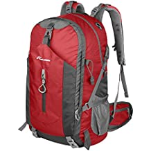 OutdoorMaster Hiking Backpack 50L - Hiking & Travel Backpack w/ Waterproof Rain Cover & Laptop Compartment - for Hiking, Traveling & Camping