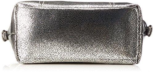 Gabor Damen Carrara Schultertasche, 14x31.5x40 cm Silber (Silber)