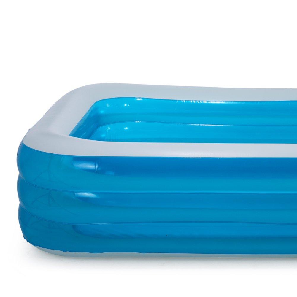 Extra große Familie aufblasbaren Pool für Erwachsene/Play Baby Planschbecken für Kinder/Verdickte Höhe erhöhen Pool-D
