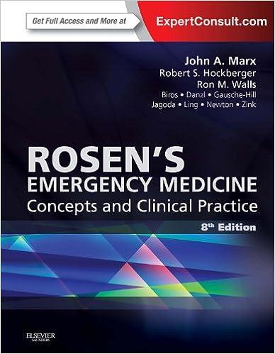 Emergency 8th edition medicine pdf rosen