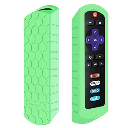 Fintie Protective Case for Roku Steaming Stick (3600R) / TCL Roku TV RC280  Remote - Casebot [Honey Comb Series] Light Weight [Anti Slip] Shock Proof