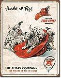 Texaco - Hatful of Pep Metal Tin Sign