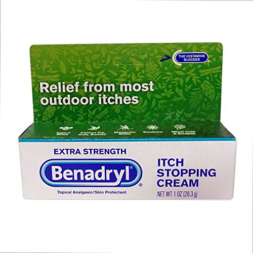 Extra Strength Itch Stopping Cream - Benadryl Itch Stopping Cream, Extra Strength, 2 pk