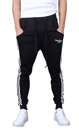 Gillbro para Hombre Joggers pantalón de Gimnasia Pantalones del ...