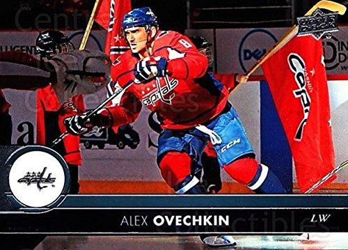 (CI) Alexander Ovechkin Hockey Card 2017-18 Upper Deck (base) 437 Alexander Ovechkin
