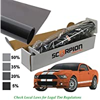 Scorpion SS5B40 Sahara Series Window Tint 1 Ply 5% 40X 100 Roll w/Extruded Dye