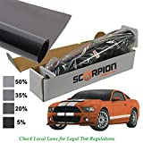 Scorpion DS35B40 Window Tint Desert Series 2 ply 35% 40''x 100' Roll Extruded Dye
