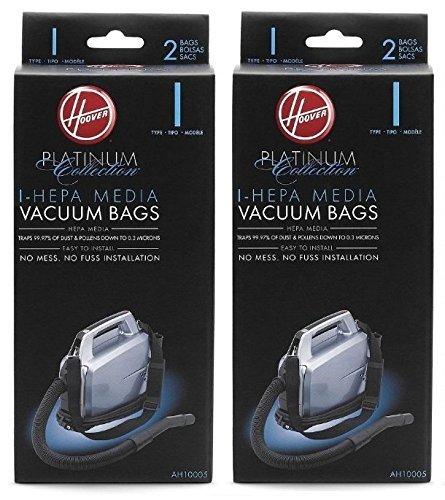 Hoover Type I HEPA Bag (4-Pack), AH10005 Hoover Inc/Tti Floor Care AH10005 UH30010COM