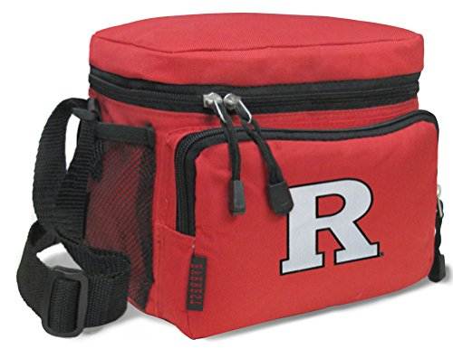 Broad Bay RU Lunch Bags NCAA Rutgers University Lunch Boxes by Broad Bay