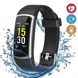 moreFit Fitness Tracker, Waterproof Activity Tracker Smart W...