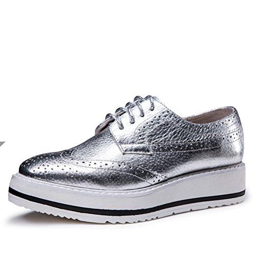 primavera brisa los zapatos ocasionales de Inglaterra/Retro Brock College de zapatos B