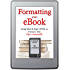 Formatting Your eBook (Using Word & Basic HTML to Format a Title by Yourself)