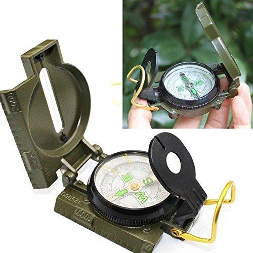 ハイキングコンパス、ミリタリーコンパスfor EasyマップナビゲーションArmyキャンプサバイバルレンズLensaticコンパス拡大鏡アウトドア B01EWGG8VW