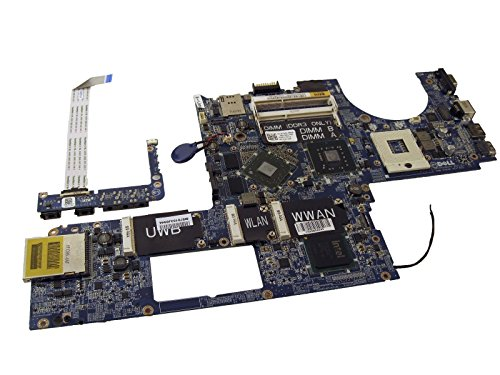 - P743D Dell Studio XPS 16 (1640) Laptop Motherboard w/ATI Mobility Radeon HD 3670 Graphics - (Mfg. Refurb.)