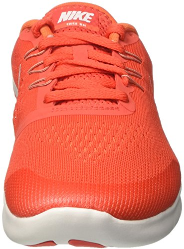 Nike Free Rn Gs, Sneakers Unisex Niños Naranja (Max Orange/pure Platinum/orchid/off White)