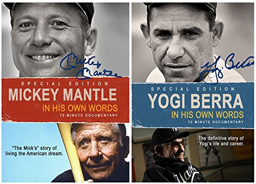 (NY Yankees Doubleheader - Mickey Mantle and Yogi Berra: In Their Own Words - 2 DVD Set)