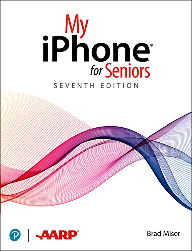Book Cover: My iPhone for Seniors