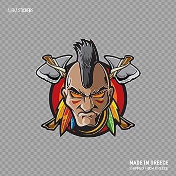 Amazon.com: Boyce22Par Warrior - Adhesivo divertido con ...