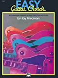 Easy Guitar Chords, Jay Friedman, 0739008390