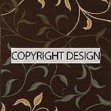 Ottomanson Brown Ottohome Contemporary Design