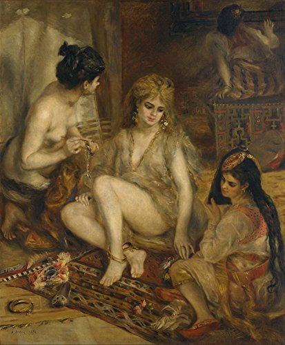 Harem Costumes Images - Berkin Arts Auguste Pierre Renoir Giclee
