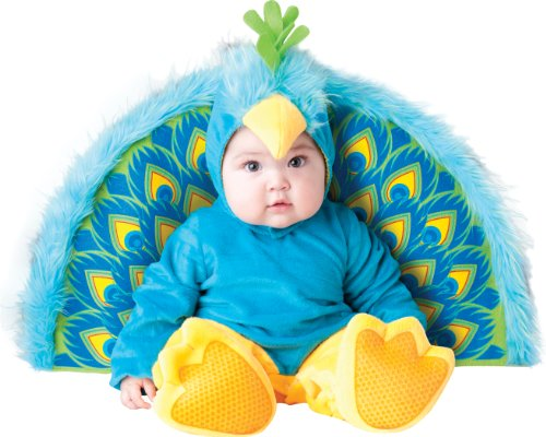 InCharacter Costumes LLC Precious Peacock BlueYellow Small