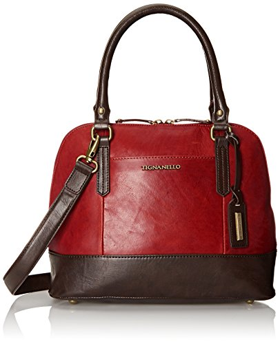 tignanello-vintage-leather-accordian-satchel-shoulder-bag-rouge-one-size